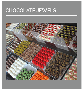 Our range of Artisan handcrafted chocolate jewels is like no other. Our 5, 10 and 15 piece gift boxes are great for any occasion.