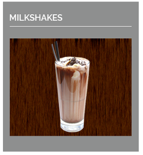 Our special blend of Milkshakes that will put a smile on your face.